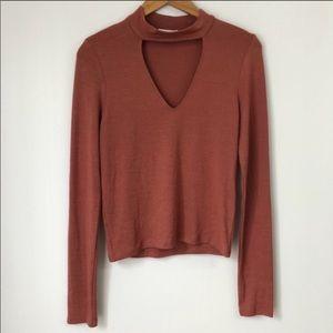 Aritzia Wilfred Free Cutout Sweater